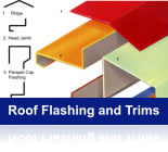 Roof Flashings and Trims